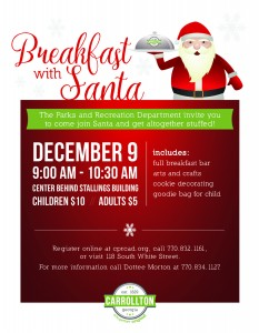 Breakfast With Santa @ Lavender Center
